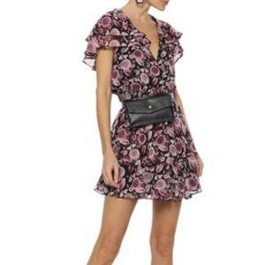 Rebecca Minkoff Miley Floral Ruffle Boho Dress